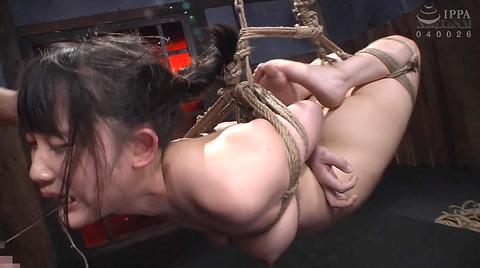 宮崎あや 残酷SM調教 一本鞭 吊られて一本鞭 拷問調教される女 44