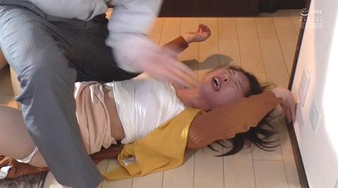 松ゆきの_ビンタ暴行乱暴暴力で踏み付レイプされる女のAVエロ画像195