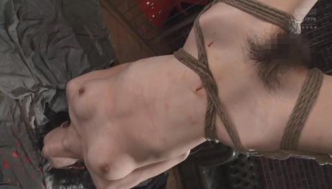 有坂深雪 SM拷問調教 胸鞭 逆さ吊り 暴虐を受ける女の画像 295