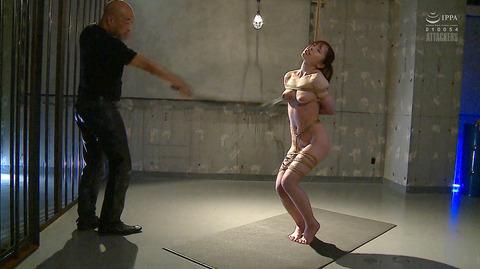 松ゆきの 胸鞭連打 首吊り 拷問 残酷SM調教される女のエロ画像 20