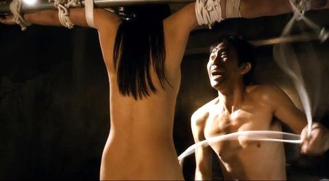 甘い鞭 間宮夕貴 裸 ヌード 監禁 性虐奴隷 エロ画像13