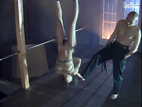 井上あんり 残虐鞭連打 逆さ吊り 水責め 拷問SMAV画像 20