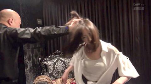 西田カリナ ビンタ 強烈鞭打ち 強制SM調教される女のエロAV画像 30