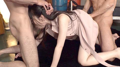 桜美ゆきな_喉奥拷問、酷いイラマチオ調教される女AVエロ画像56