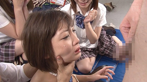 広瀬うみ 強姦 集団レイプ 学校で性的いじめにあう奴隷女の画像 21