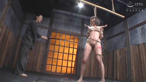強烈ビンタ 一本鞭責め SM調教 七海ゆあ AV エロ画像 nanamiyua256