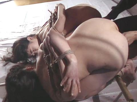有野ゆかり SM同時調教 拷問責め縄 緊縛調教される女 31