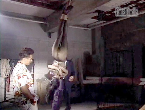 野口由香 鞭打ち 水責め 逆さ吊り SM調教画像 2000年代SMビデオ 02