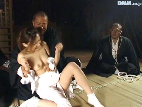 長谷川あゆみ SM調教画像 踏みつけられて犯されて 01