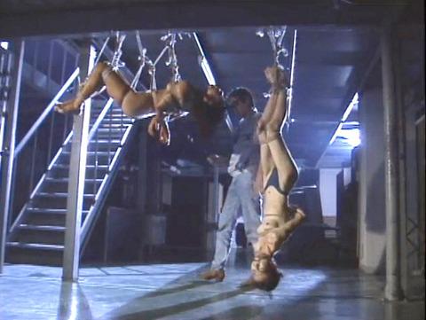 昭和のSM 夏目雅美 スレンダー美女 逆さ吊り 鞭打ち SM画像 21