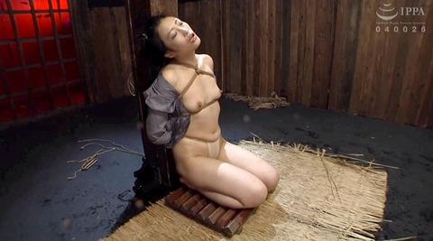 神納花 菅野しずか 拷問SM調教 正座 水責め 画像54