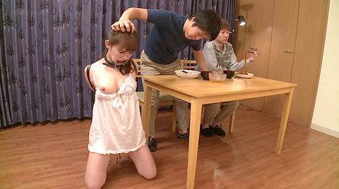 小西悠 奴隷マゾ女 飼われて服従するM女のAVエロビデオ 132