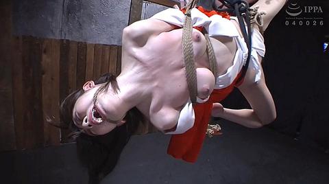 有坂深雪 残酷な吊り責めをされて鞭打たれてSM調教される女 193