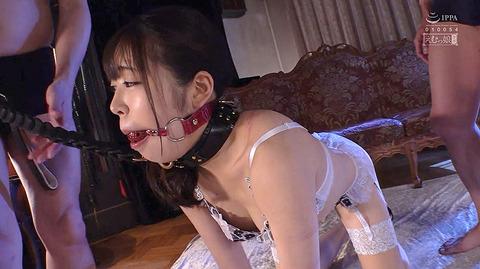 加賀美さら 惨めSM奴隷調教 踏まれてビンタされる女のAVエロ画像 30