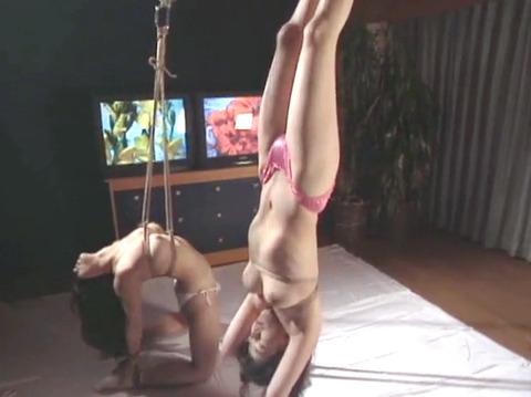 有野ゆかり SM同時調教 拷問責め縄 緊縛調教される女 19