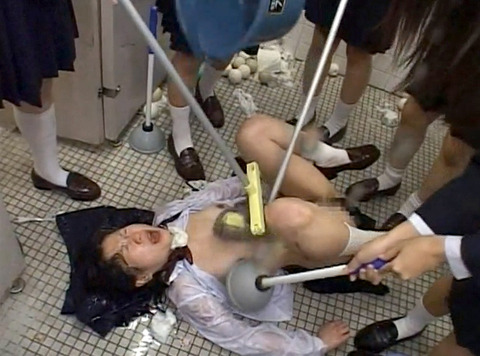 集団リンチ 暴虐教室 集団虐め画像184