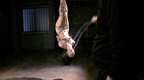 樹花凛=七咲楓花 逆さ吊り 水責め 拷問フェラチオ調教 エロ画像 191