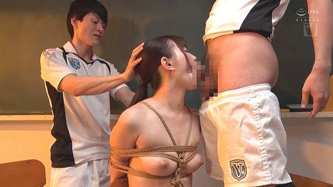 美谷朱里 SM 縛られて嬲られて涙を流す女の画像 87