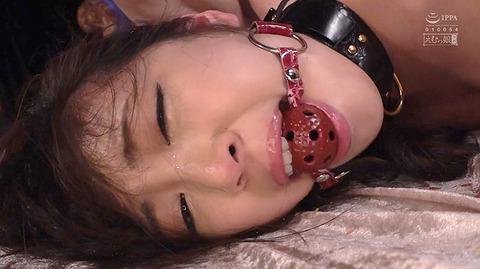 加賀美さら 惨めSM奴隷調教 踏まれてビンタされる女のAVエロ画像 61