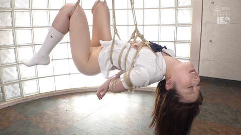 上川星空 麻縄緊縛 自由を奪われ嬲り犯される女のエロ画像 28
