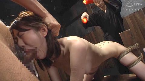 有坂深雪 残酷な吊り責めをされて鞭打たれてSM調教される女 211