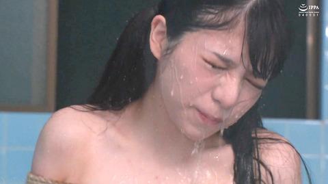 美らかのん 野外露出 野外SM調教 冷水水責めされる女 AVエロ画像 65