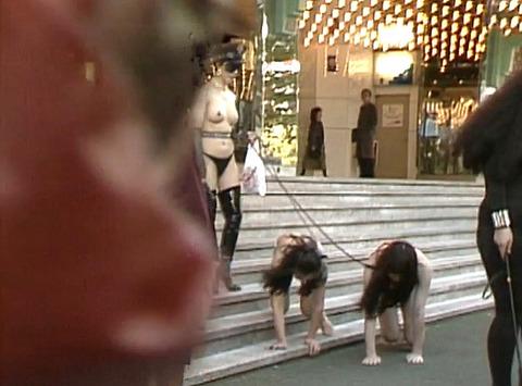 昭和のSM調教24時間野外調教01
