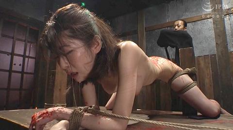 有坂深雪 残酷な吊り責めをされて鞭打たれてSM調教される女 216