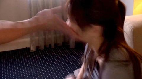 ビンタされて犯されてフェラ調教される女 舞咲みくに AVエロ画像06