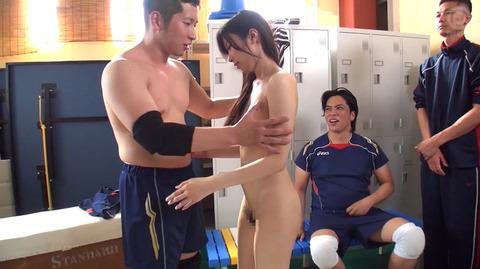 加藤ほのか 服従の全裸奴隷フェラ AV輪姦強姦画像 13