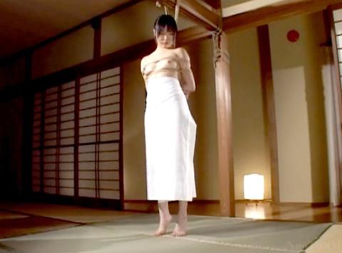 宮咲志帆 ビンタ 強烈ビンタ 緊縛ビンタされる女のAV画像 04