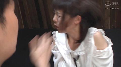 強烈ビンタ 拷問イラマチオ SM調教される 七海ゆあ AV エロ画像 217
