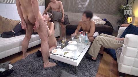 九重かんな サークルレイプ 集団強姦 性奴隷 犯される女の AV画像 11