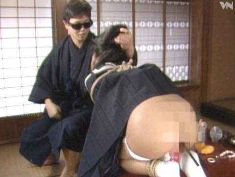 島崎梨乃 昭和の美人SM女優 ハードSM調教される女04