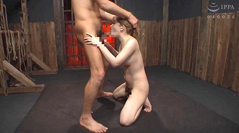 麻里梨夏 強制フェラ ビンタ鞭打ち SM性玩具にされる女の画像 78