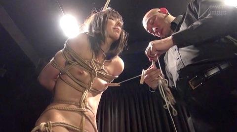 西田カリナ ビンタ 強烈鞭打ち 強制SM調教される女のエロAV画像 42