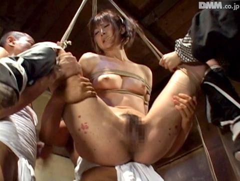 原千尋(愛咲れいら)SM拷問 逆さ吊り 調教 AV 画像 327