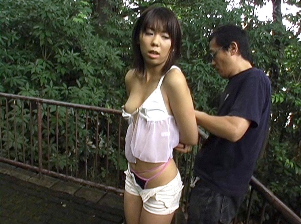 SM緊縛画像 真帆 沢井真帆 ギリギリモザイクによる、拘束浣腸、その一部始終。