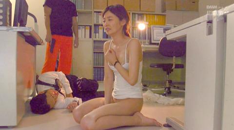 夏目彩春 身代わり強制レイプ 抵抗不能で犯される女のエロAV画像 257