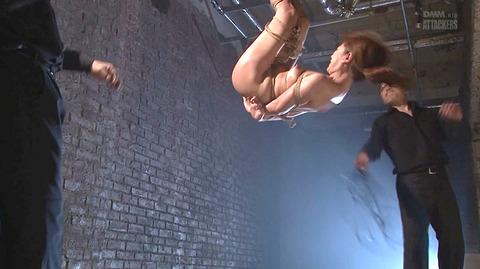 結城みさ 拷問ハードSM 残酷鞭打ち 拷問緊縛 逆さ吊り AVエロ画像 50