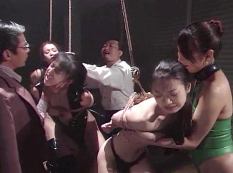 矢沢ようこ 実姉妹 同時 SM調教 緊縛 水責め 鞭打ち 調教される女 04