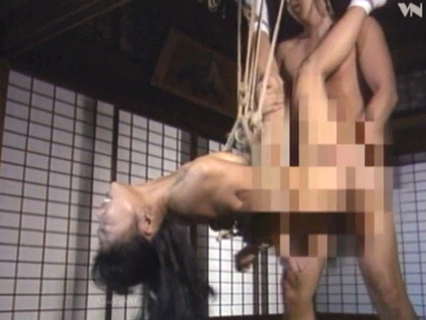 島崎梨乃 昭和の美人SM女優 ハードSM調教される女17