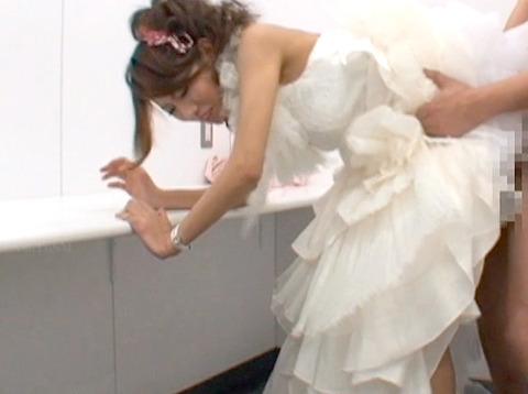 伊藤れん ウエディングドレスでトイレで犯される 結婚披露宴強姦 02