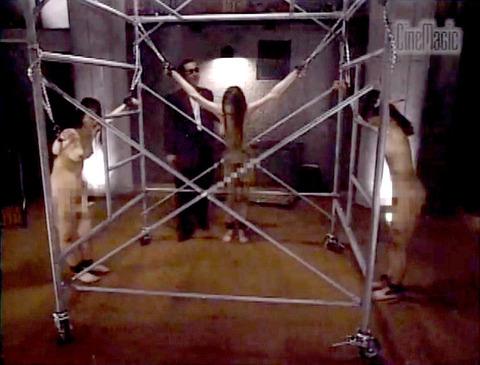 野口由香 鞭打ち 水責め 逆さ吊り SM調教画像 2000年代SMビデオ 11