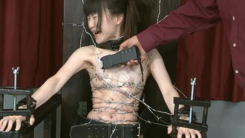 女優が可哀想 暴虐鬼畜 拷問SM 虐待調教 画像 うり40