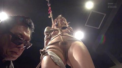 西田カリナ ビンタ 強烈鞭打ち 強制SM調教される女のエロAV画像 41