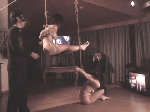 有野ゆかり SM同時調教 拷問責め縄 緊縛調教される女 12