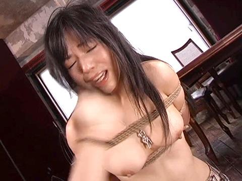 陽多まり ビンタ イラマチオ ビンタ 緊縛デンマ責め 画像 10