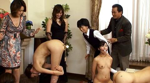 SM調教 オブジェにされる女 部屋の飾るにされるM女の画像165