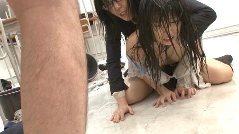 永井みひな ビンタ 暴虐 奴隷凌辱調教される女のAVエロ画像 115